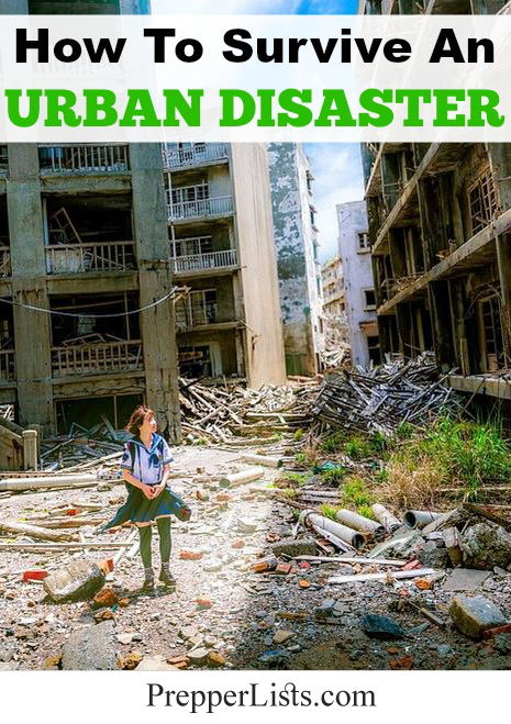 How To Survive An Urban Disaster