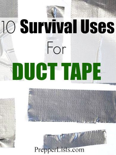 10 Survival Uses For Duct Tape