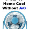 10 Green Ways To Keep Your Home Cool Without An Air Conditioner